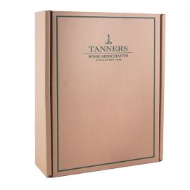 Tanners 3 bottle Gift Box, Natural Brown