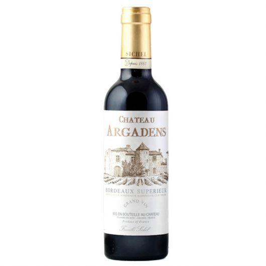 Château Argadens, Bordeaux Supérieur 2017 - Half