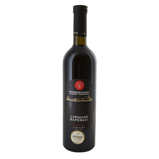 Winery Khareba Saperavi, Dry Red Wine 2016