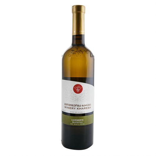 Winery Khareba Rkatsiteli, Dry White Wine 2017