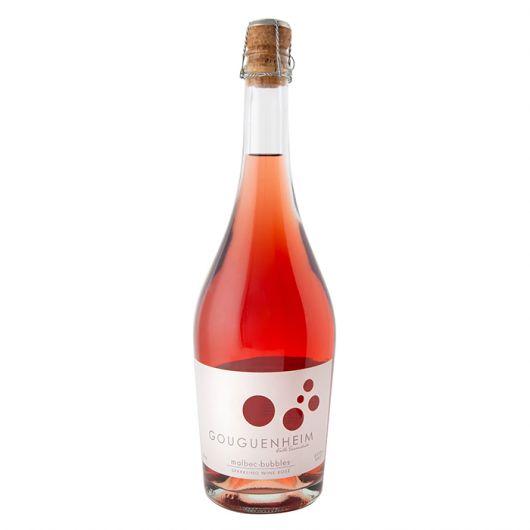 Gouguenheim Malbec Bubbles, Sparkling Rosé Extra Brut, Mendoza