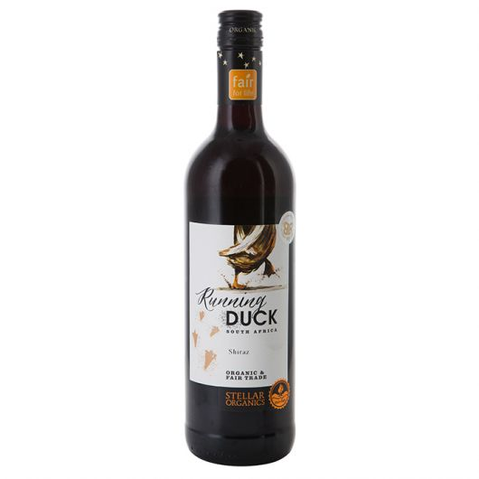 Running Duck Shiraz, Western Cape, Stellar Organics 2019