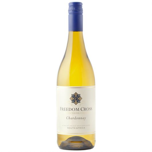 Freedom Cross Chardonnay, Western Cape, Franschhoek Cellar 2019