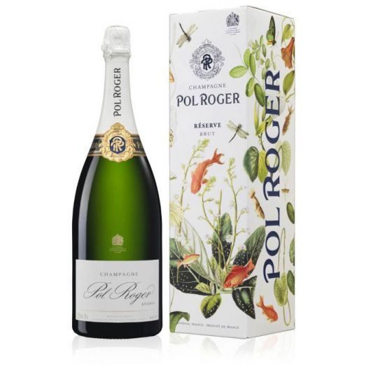 Pol Roger Réserve, Brut Champagne, Limited Edition Goldfish Gift Box