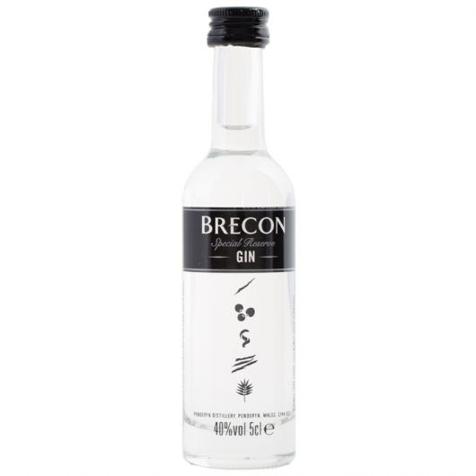 Brecon Special Dry Reserve Gin, 40% vol - 5cl