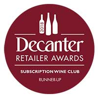 Decanter Runner Up Subscription Wine Club of the year