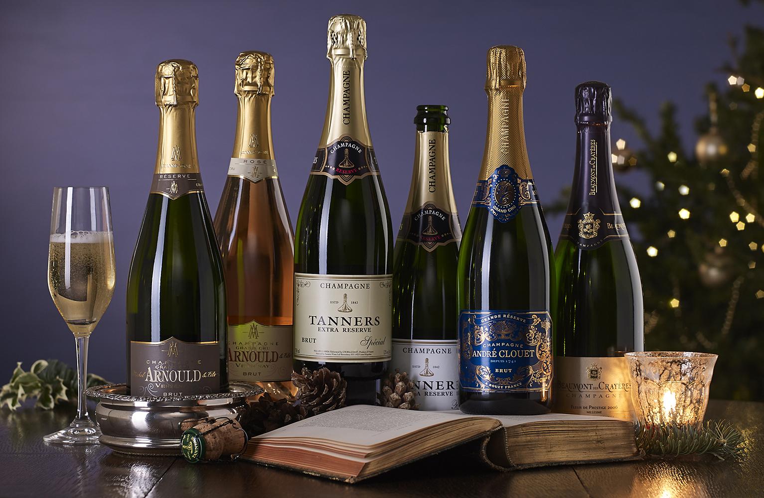 The Champagne Christmas Six Christmas Gift