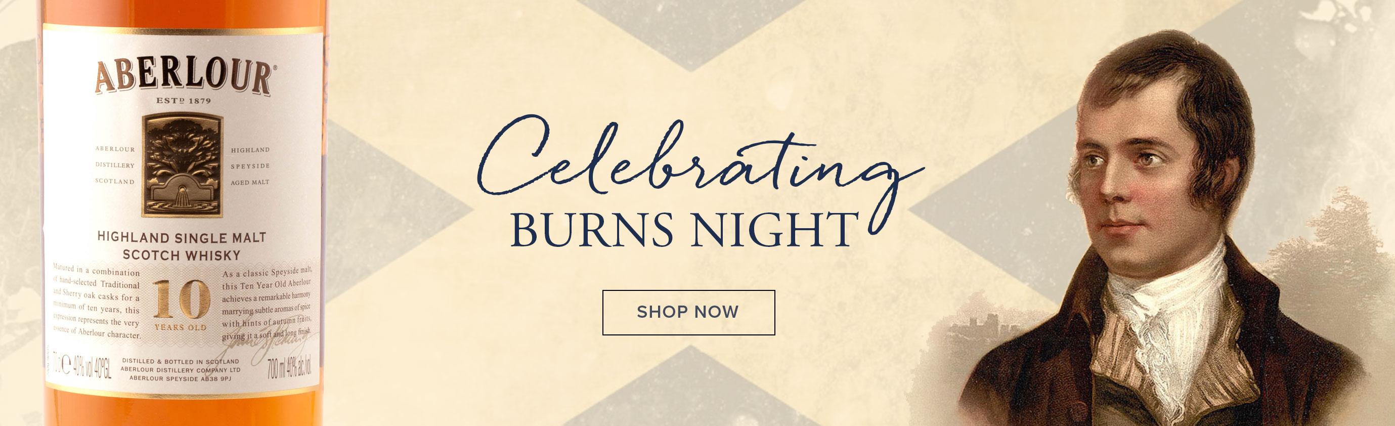 Celebrating Burns Night Scottish Whisky