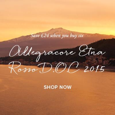Allegracore   Etna Rosso D.O.C 2015