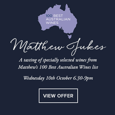 Matthew Jukes 100 best Australian Wines