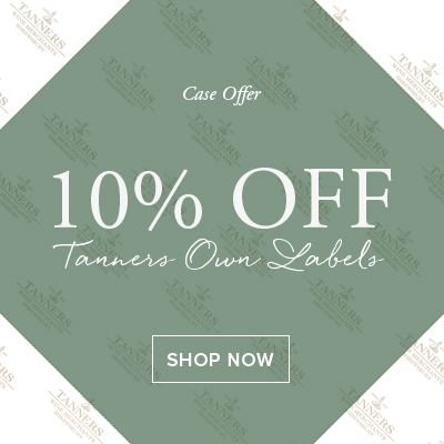 10% Off Tanners Champagne