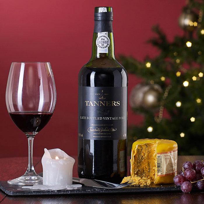 Port and Shropshire Blue Christmas Gift
