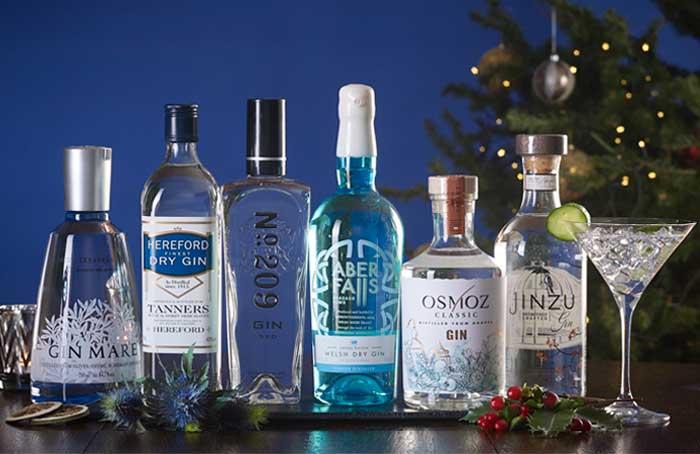 Around The World Gin Half Dozen - Christmas Gift