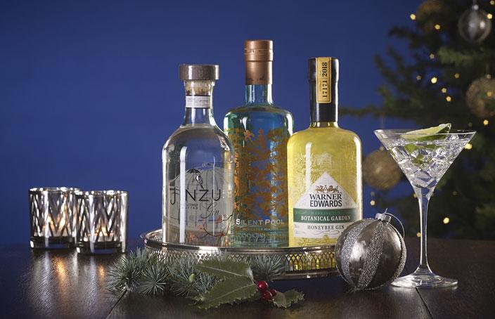 Great British Gin Trio