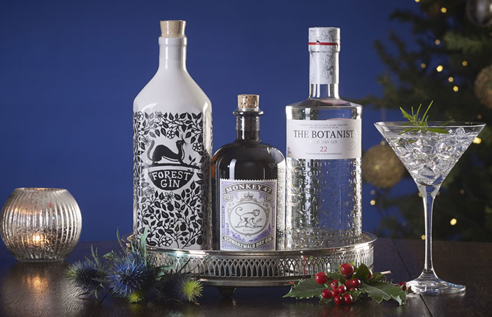 The Very Best Gin Trio - Christmas Gift