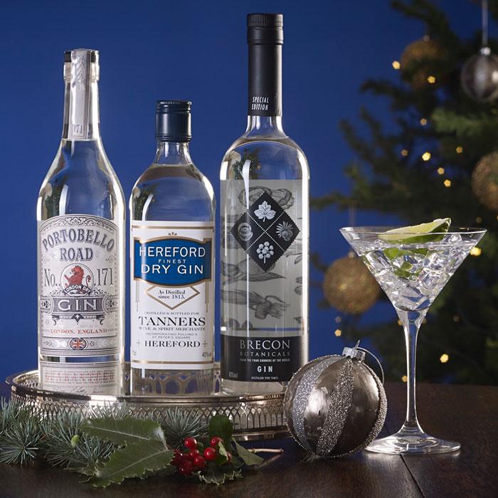Favourites Gin Trio - Christmas Gift