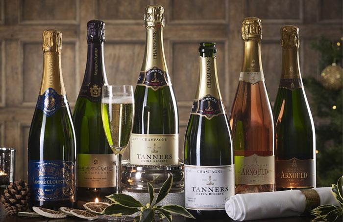Champagne Christmas Six
