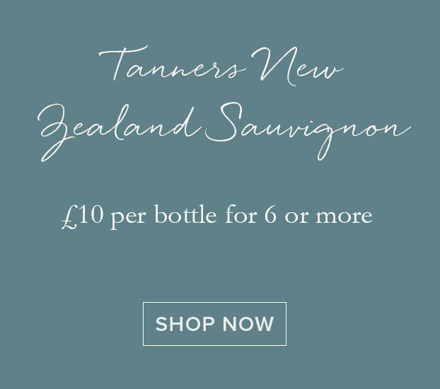 TANNERS NEW ZEALAND SAUVIGNON BLANC