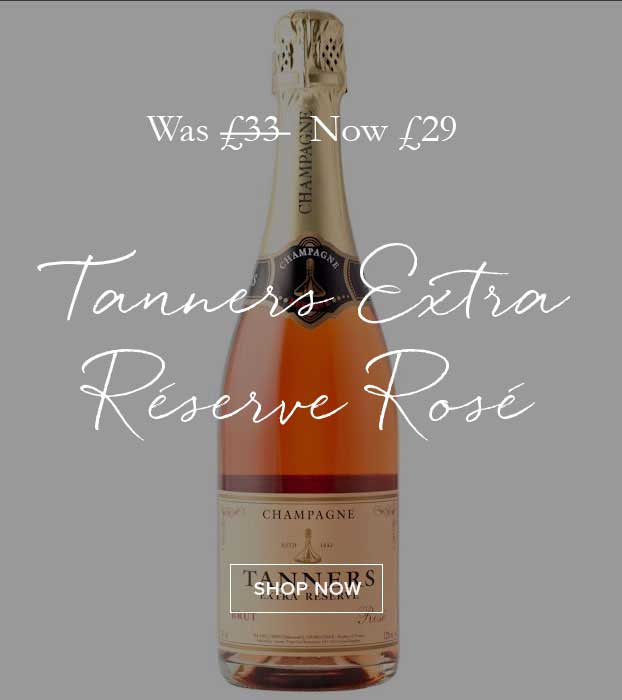 On Offer Tanners Extra Rerserve Rose