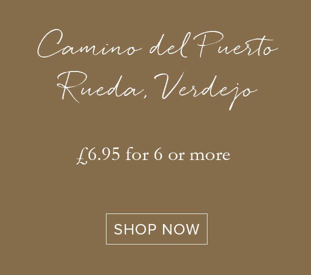 CAMINO DEL PUERTO RUEDA, VERDEJO, EL ALBAR LURTON 2018