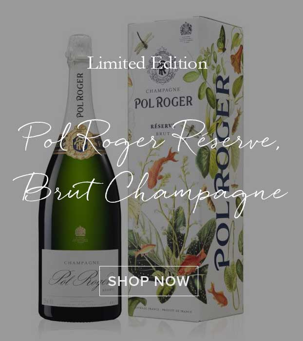Pol Roger Réserve, Brut Champagne, Limited Edition Goldfish Gift Box
