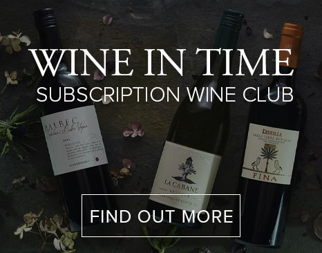 Join our Wine in Time Club