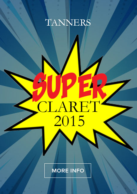 Tanners Super Claret 2015