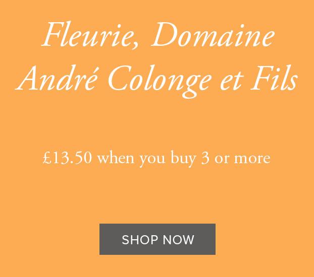 FLEURIE, DOMAINE ANDRÉ COLONGE ET FILS 2018