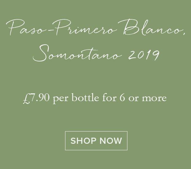 Paso-Primero Blanco, Somontano 2019