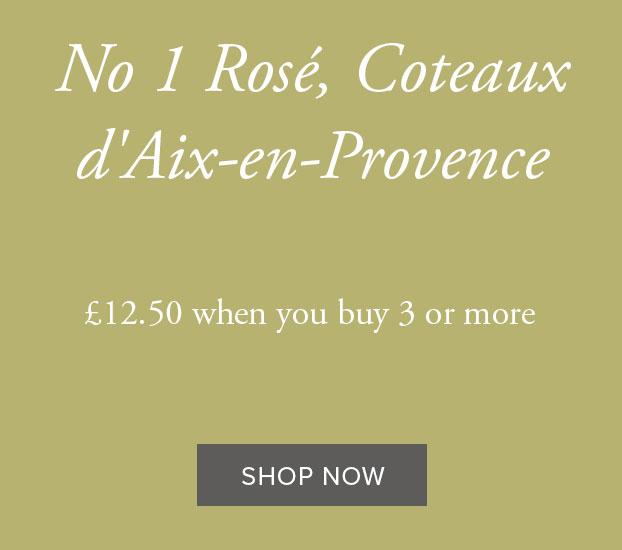 NO 1 ROSÉ, COTEAUX D'AIX-EN-PROVENCE, DOMAINE PEY BLANC 2020
