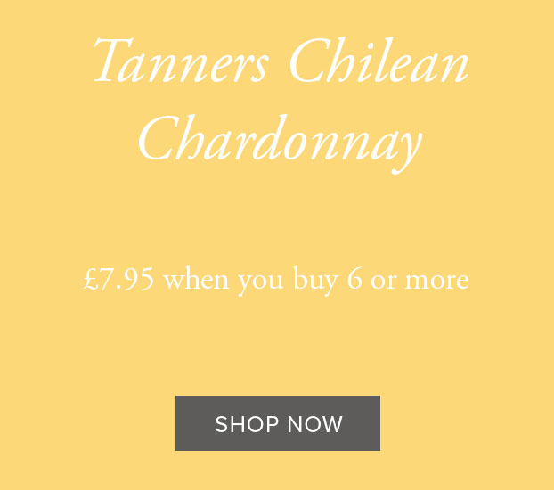TANNERS CHILEAN CHARDONNAY, COLCHAGUA VALLEY 2020