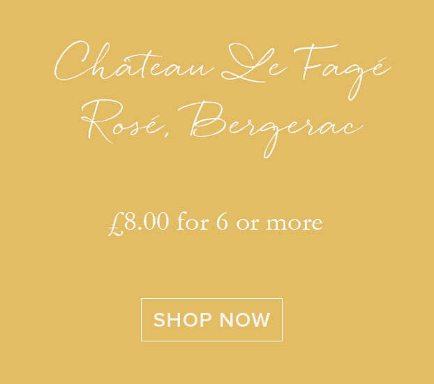 Château Le Fagé Rosé, Bergerac 2018