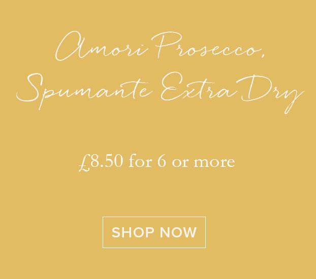 Amori Prosecco, Spumante Extra Dry